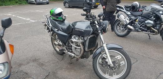 My Rusty trusty CX500 Eurosport! (Josh's)